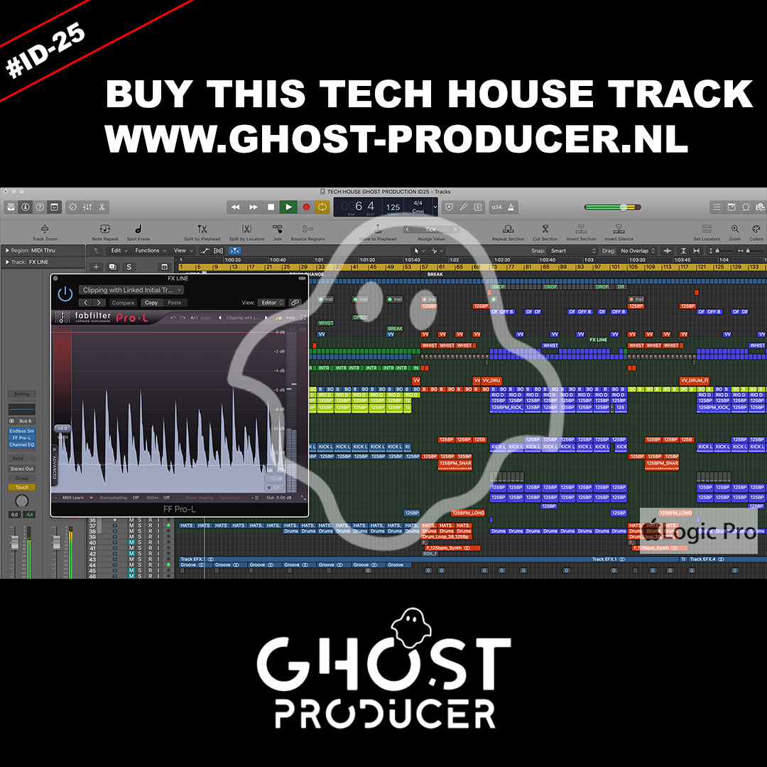 TECH HOUSE GHOST PRODUCTION